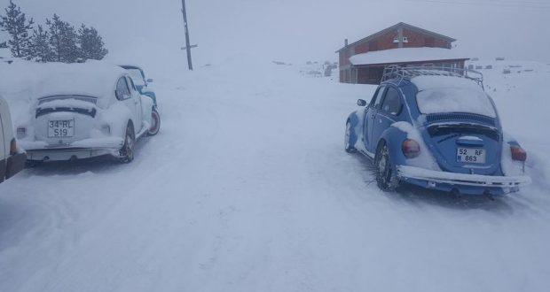 Çambaşı Kar Festivali'ndeydik